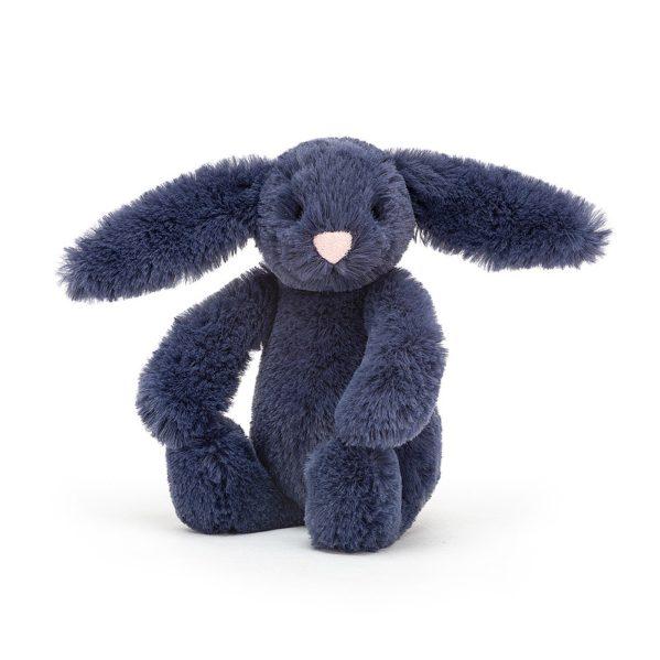 JELLYCAT przytulanka królik 13 cm atramentowy