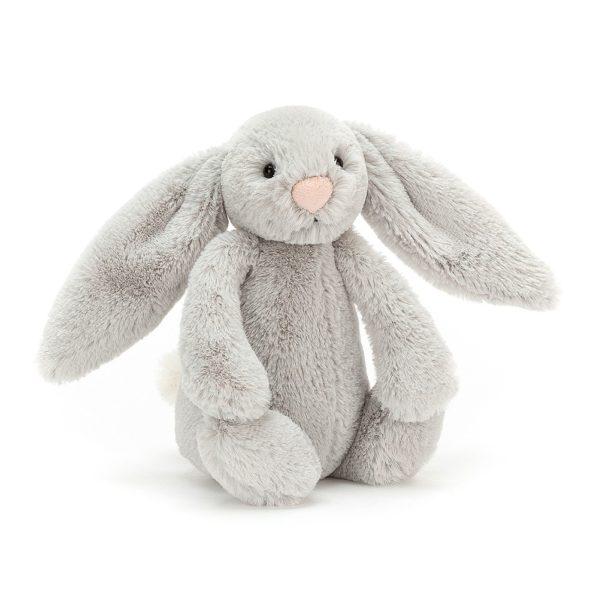 JELLYCAT przytulanka królik 18 cm szary