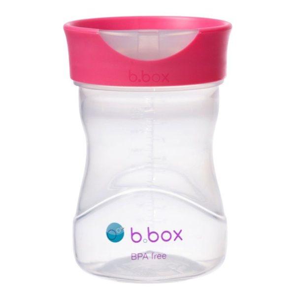 B.BOX Kubek treningowy 240 ml malinowy