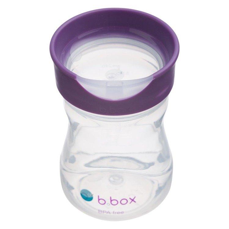 B.BOX Kubek treningowy 240 ml winogronowy