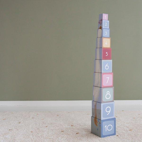 LITTLE DUTCH Kartonowa wieża Little Goose