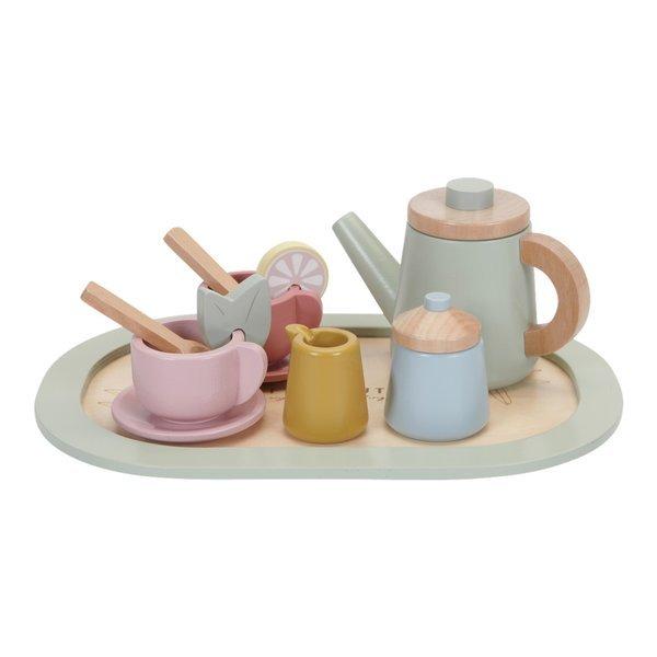 LITTLE DUTCH zabawka drewniany Zestaw Tea set