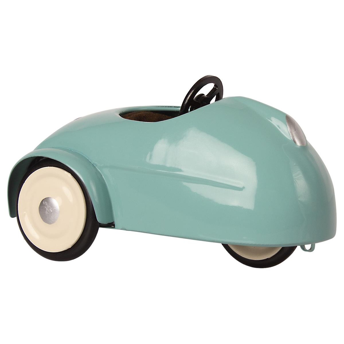 MAILEG myszka w samochodzie z garażem Mouse car w. garage Blue
