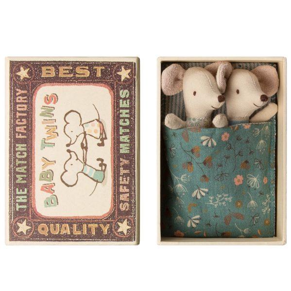 MAILEG myszki bliźniaki w pudełku
