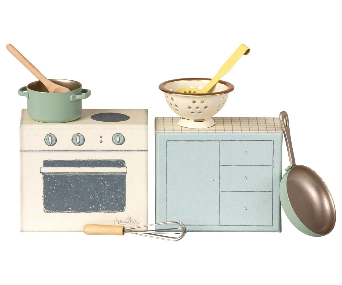 MAILEG zestaw do gotowania, cooking set