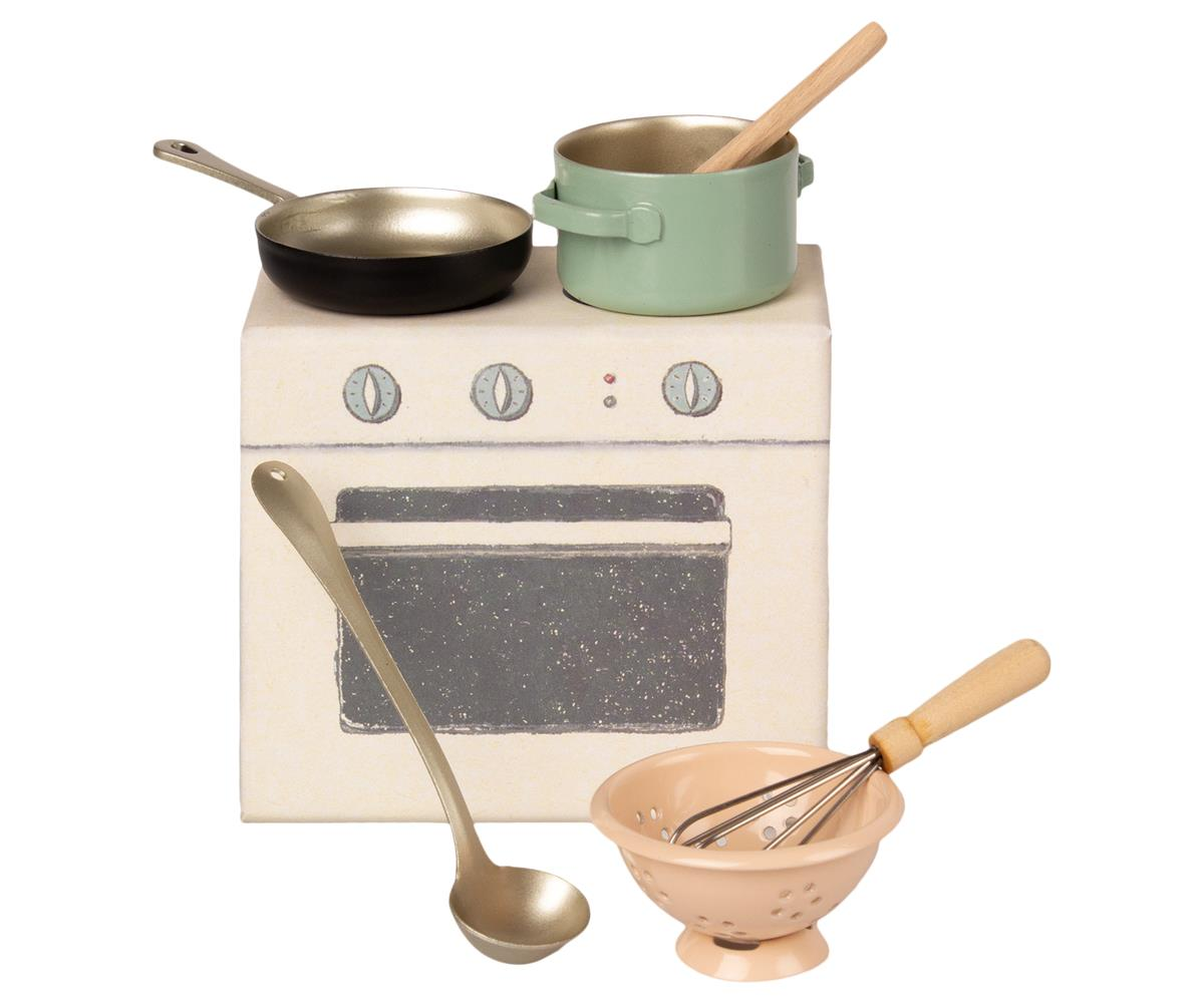 MAILEG zestaw do gotowania cooking set