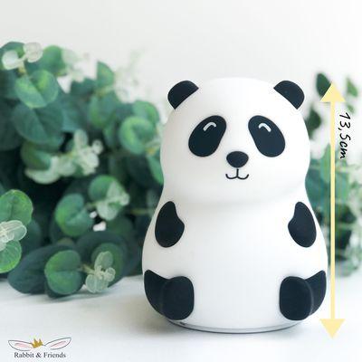 Rabbit&Friends Silikonowa lampka LED - panda