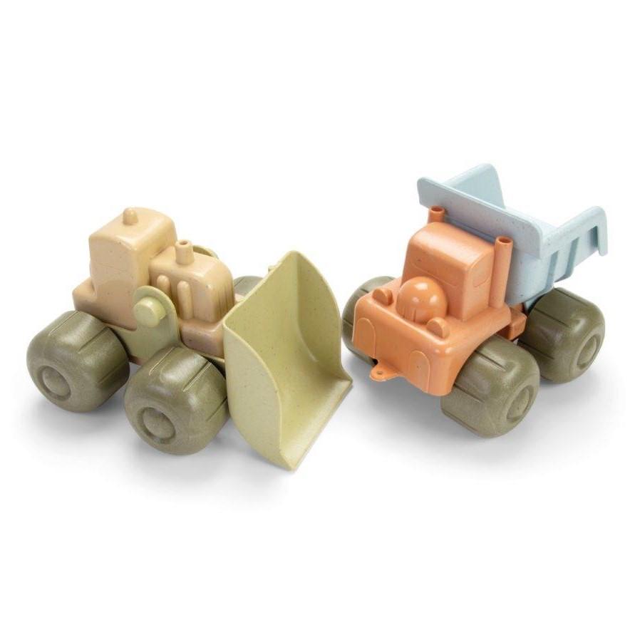 Zabawka BIOplastic pojazdy zestaw 2 szt wywrotka i koparka