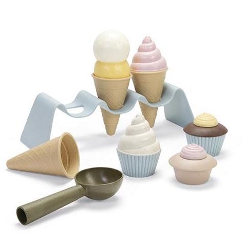 Zabawka BIOplastic zestaw do lodów Dantoy