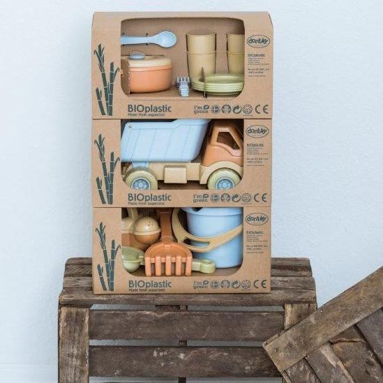 Zabawka BIOplastic zestaw obiadowy Dantoy