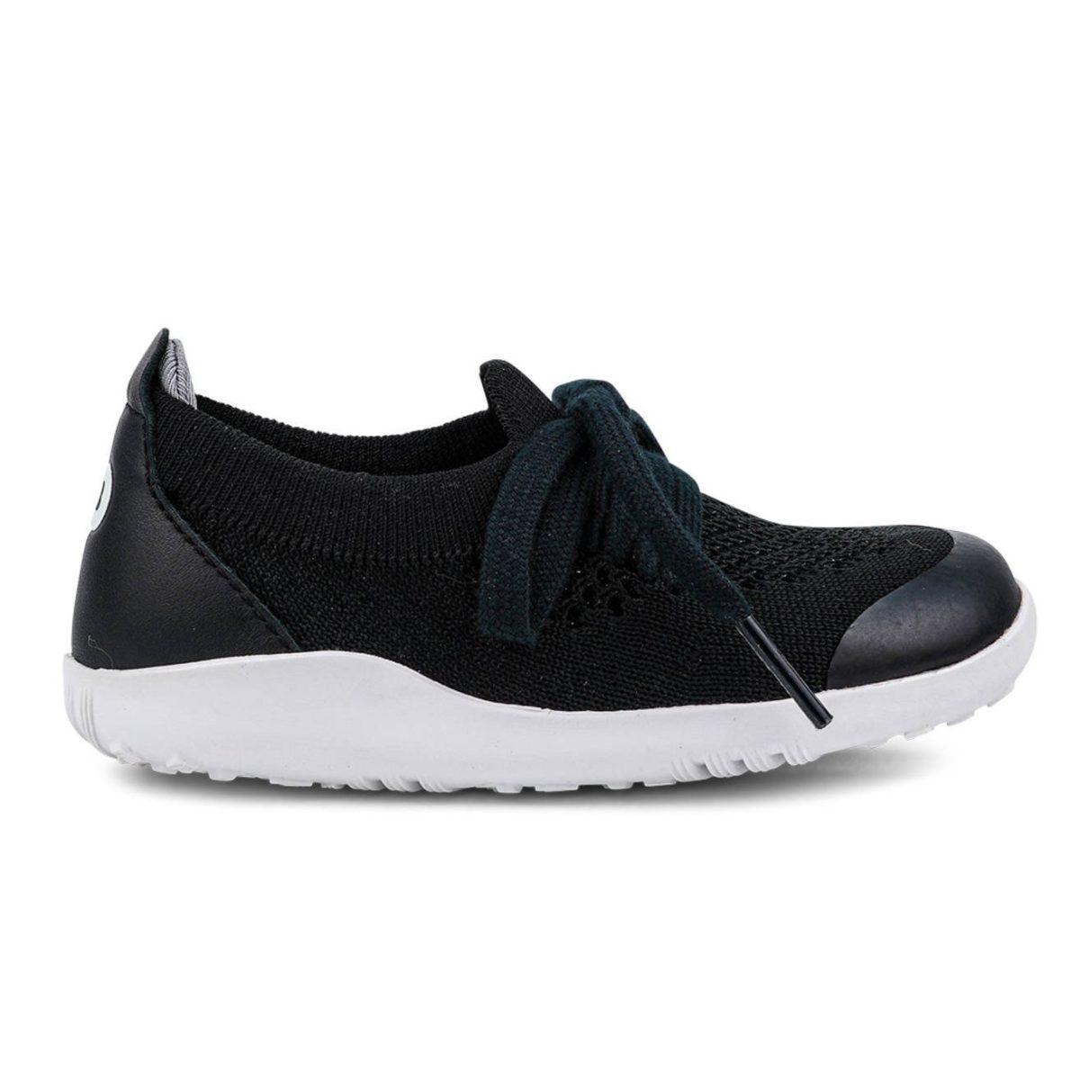 BOBUX I Walk Play Knit Black + Charcoal buty dziecięce 23-26