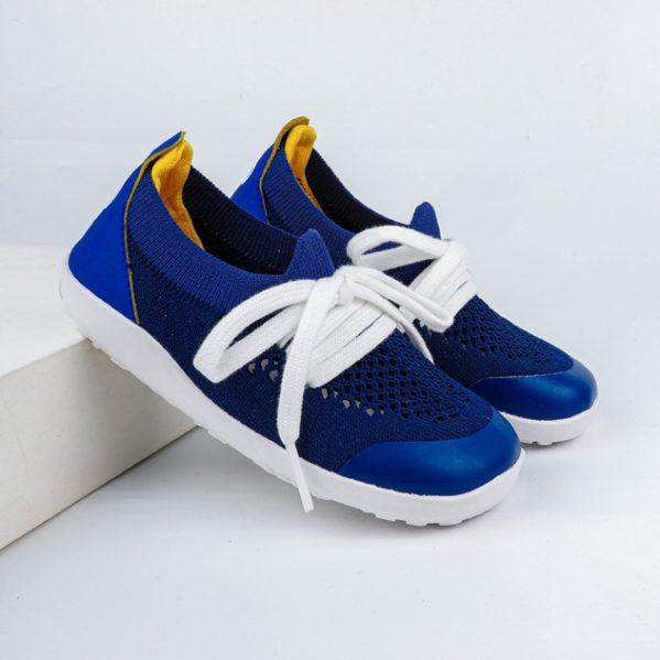 BOBUX I Walk Play Knit Blueberry + Yellow buty dziecięce 23-26 (3) — kopia