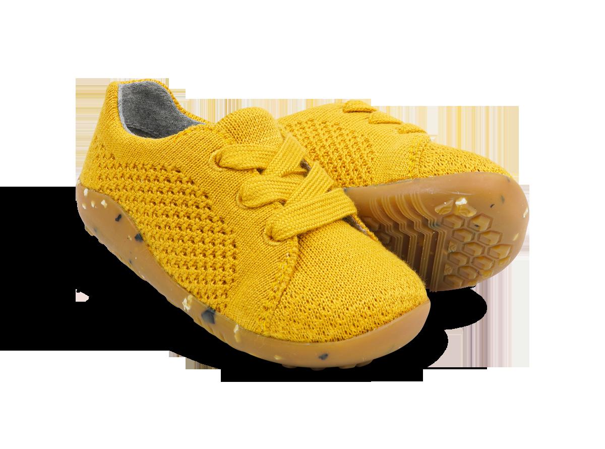 BOBUX I Walk Seedling turmeric - buty dziecięce WEGAŃSKIE 20-22