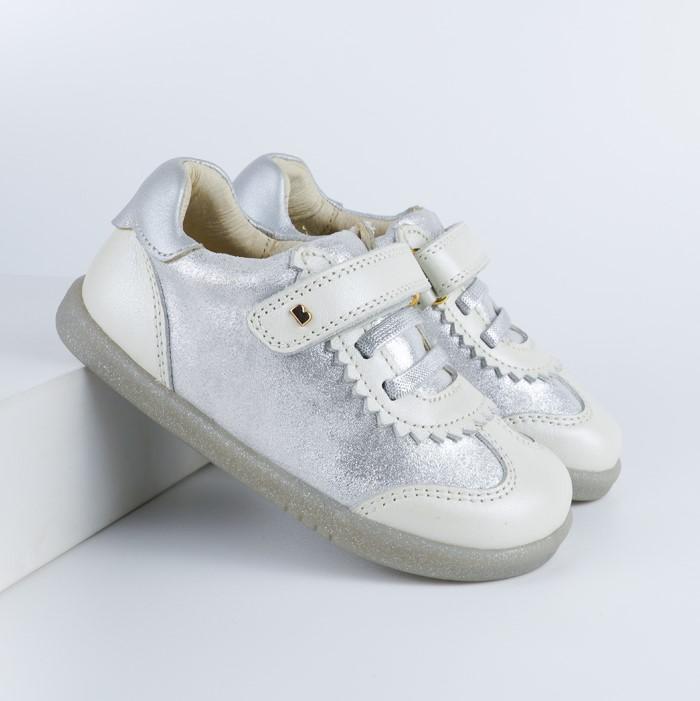 BOBUX I Walk Sprite White Pearl + Silver Cloud - buty dziecięce 22-26
