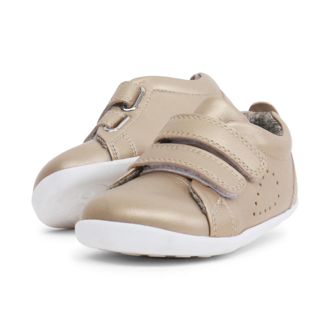 BOBUX Step Up Grass Court Gold buty dziecięce 20-22