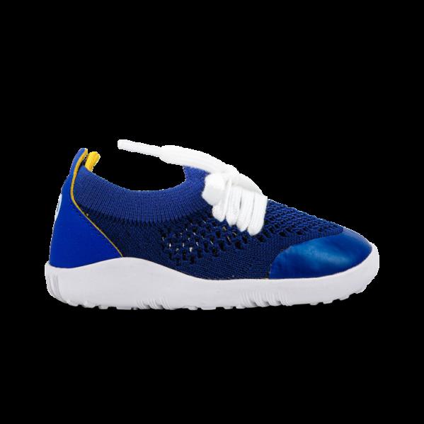 BOBUX Step Up Play Knit Blueberry + Yellow buty dziecięce 20-22