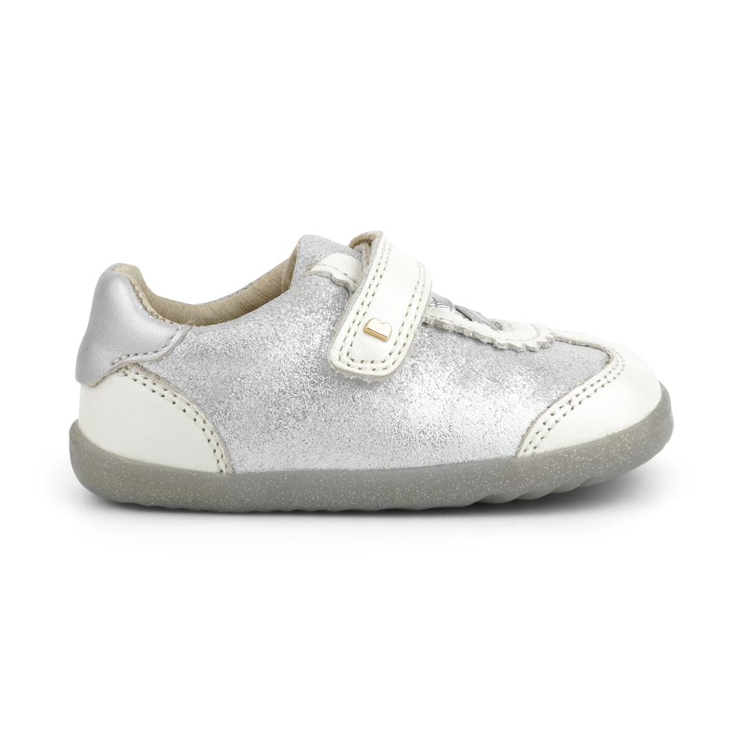 BOBUX Step Up Sprite White Pearl + Silver Cloud - buty dziecięce 20-21