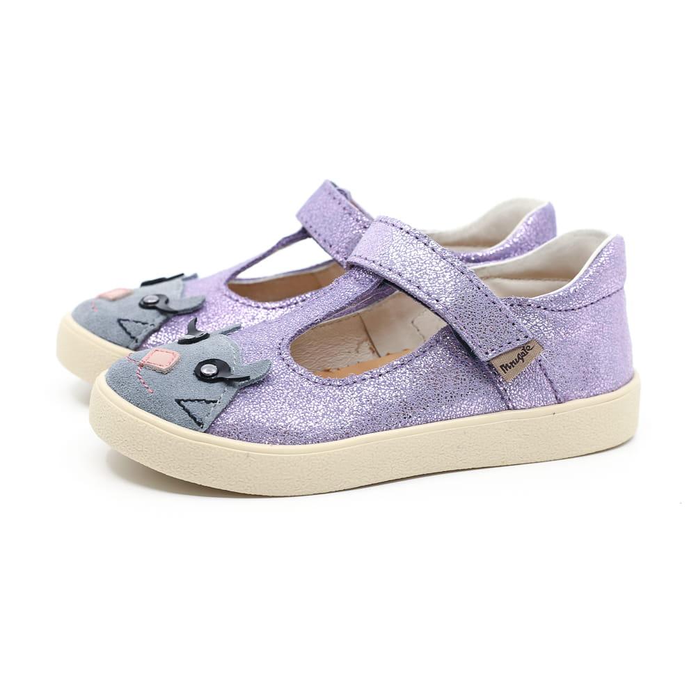 MRUGAŁA baleriny dziecięce TOLA kitty lavender 26-30