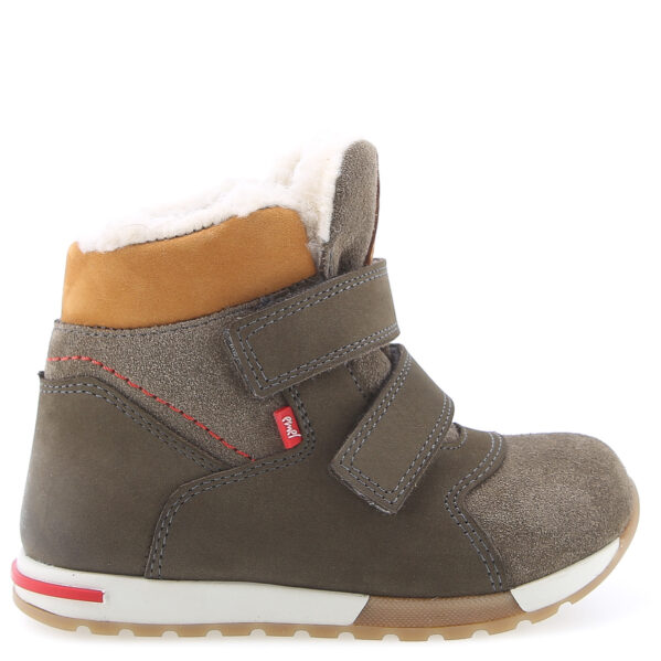 EMEL zimowe buty dziecięce z membraną WATERPROOF i wełną naturalną EV 2721 chwalipietka